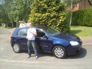 Shrewsbury driving school pupil pass