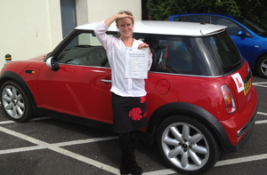 Simply Driving Lessons pupil Helene Walravens